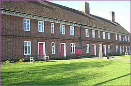 The Mills Almshouses in Station Road